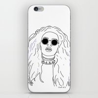 charli xcx iPhone & iPod Skins featuring Charli XCX by Borrowed Lines