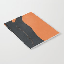 Abstract Nude I Notebook