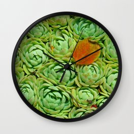 How green Wall Clock