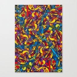 Fallen Perseids Canvas Print