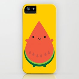 Kawaii Watermelon iPhone Case