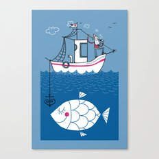 Love Boat Captain Canvas Print