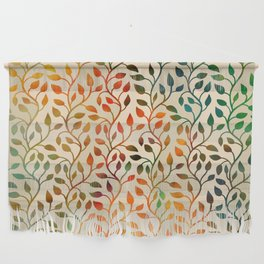 Pattern of Small Autumn Leaves Wall Hanging