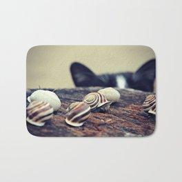 Cat Snails Bath Mat