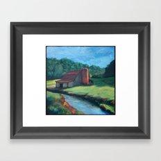 Sugar Grove Barn Framed Art Print