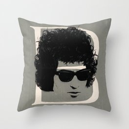 B is for Bob Throw Pillow