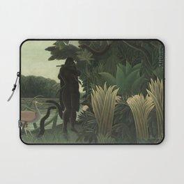 Henri Rousseau - The Snake Charmer Laptop Sleeve