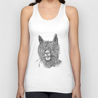 hollywood Tank Tops featuring Hollywood Smile by Peerless Designs Art