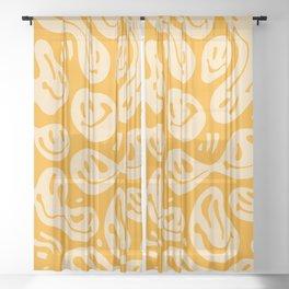 Liquify Honey Sheer Curtain