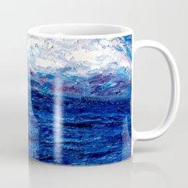 Cotton Candy Ocean Coffee Mug