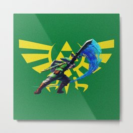 The Legend Of Zelda Sword Metal Print