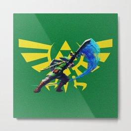 The Legend Of Zelda Sword Metal Print