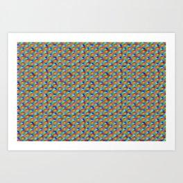 Softly blink-blinks ... Art Print
