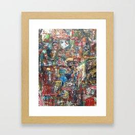 class of 2017 Framed Art Print