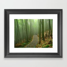 Romantic Bamboo Forest Framed Art Print