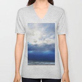 Ocean Skies Unisex V-Neck