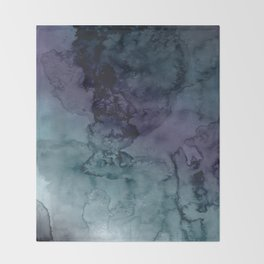 Energize - Mixed media painting Throw Blanket