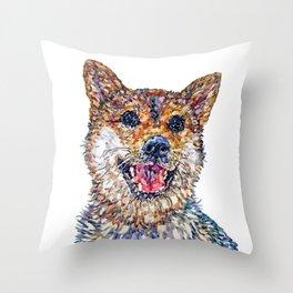 Shiba Inu - Mila Throw Pillow