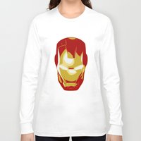 ironman Long Sleeve T-shirts featuring Ironman by Adel