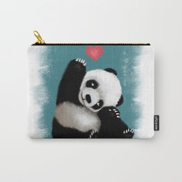Panda Love (Color) Carry-All Pouch