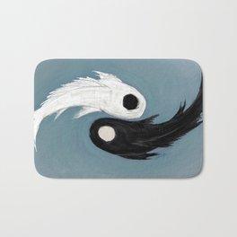 Ying and Yang Koi Fish Bath Mat