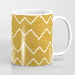 Urbana in Gold Coffee Mug