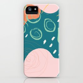Wild Abstract iPhone Case
