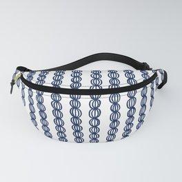 Blue Strings Fanny Pack