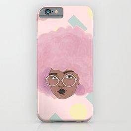 Bubblegum Girl iPhone Case