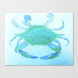 Chesapeake Blue Crab Canvas Print