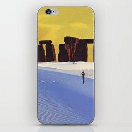 Viajes por el Desierto iPhone Skin