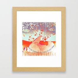 Spring 7 Framed Art Print