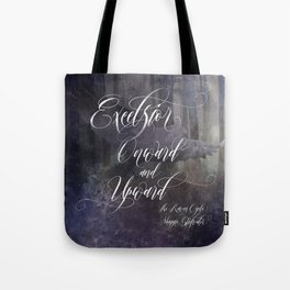 Excelsior. The Raven Boys. Tote Bag