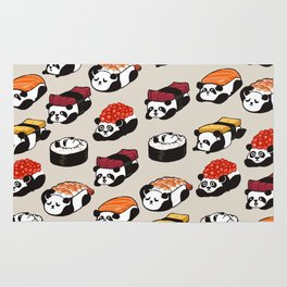 Sushi Panda Rug
