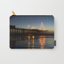Christmas by the Sea Carry-All Pouch