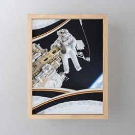 Spacewalk Framed Mini Art Print
