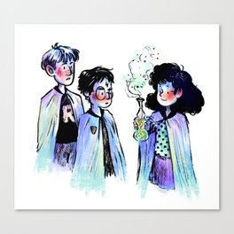 Trio Pals Canvas Print