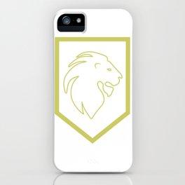 Phi Lambda Chi Lion iPhone Case