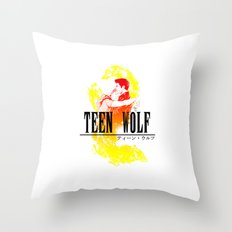 Final Wolf Throw Pillow