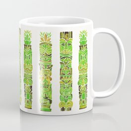 Tiki Totems – Green Coffee Mug