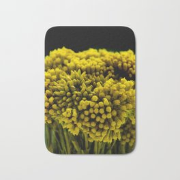 curry flower Bath Mat