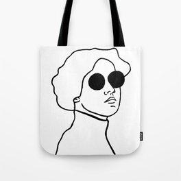 Lady Shades Tote Bag
