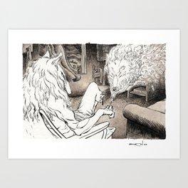 Nostalgia 01 Art Print