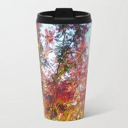 Fiery Autumn Travel Mug