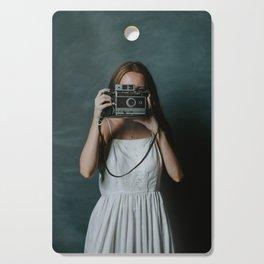 The Old Camera Cutting Board