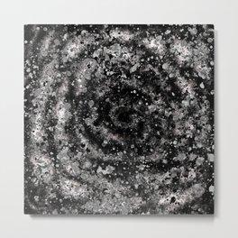 Subconscious Starlit Spots and Spirals Metal Print