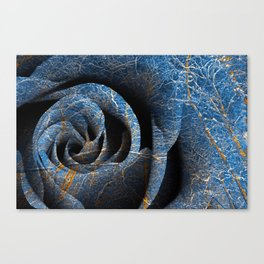 Susquehanna Winter Rose Canvas Print