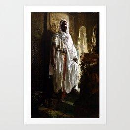 Eduard Charlemont The Moorish Chief Art Print