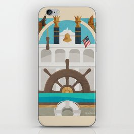 Queen of the Riverboats iPhone Skin