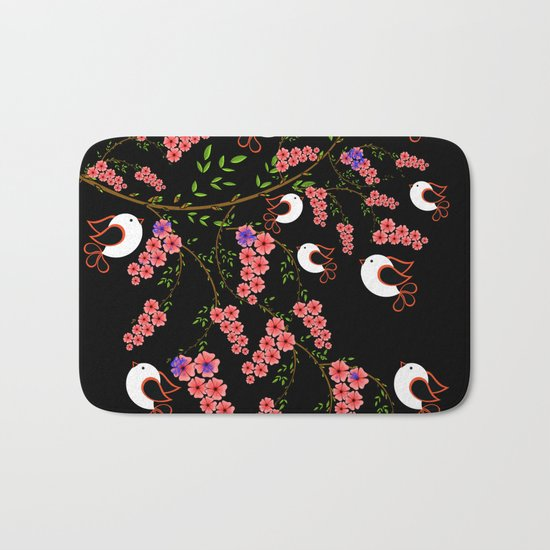 love bird Bath Mat